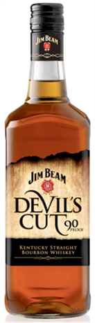 Jim Beam Bourbon Devils Cut 90@